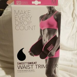 Sweet Sweat Waist Trimmer New In Box/ free sample